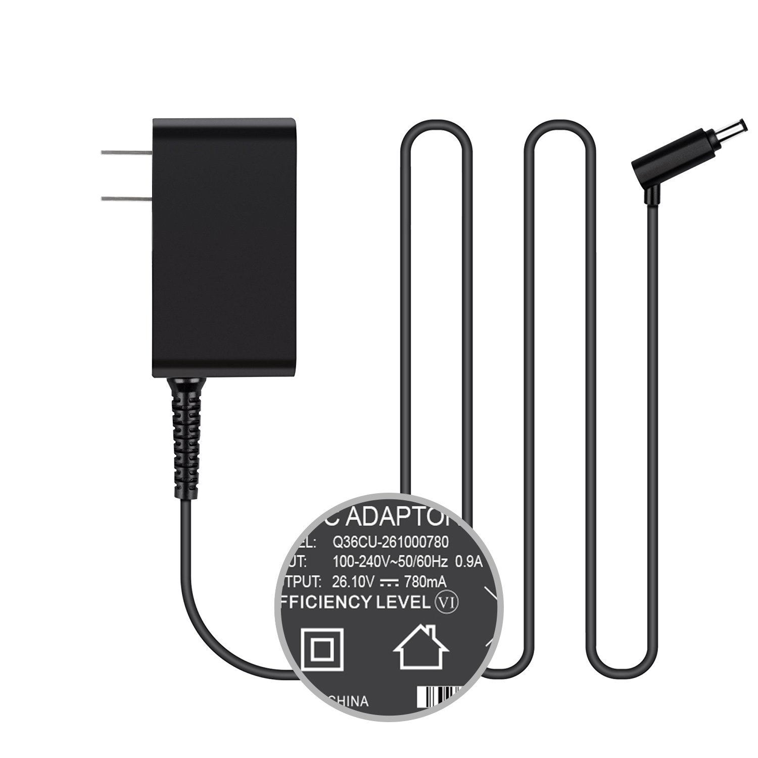 TFDirect Wall Charger for Dyson Cordless Vacuum Cleaner V6,V6 Absolute,DC58,DC59,DC61,DC62,SV03,SV05 ERP,SV06;100% Compatible with P/n:64506-01 64506-07 965875-07 965875-05 6450607 96587507 96587505