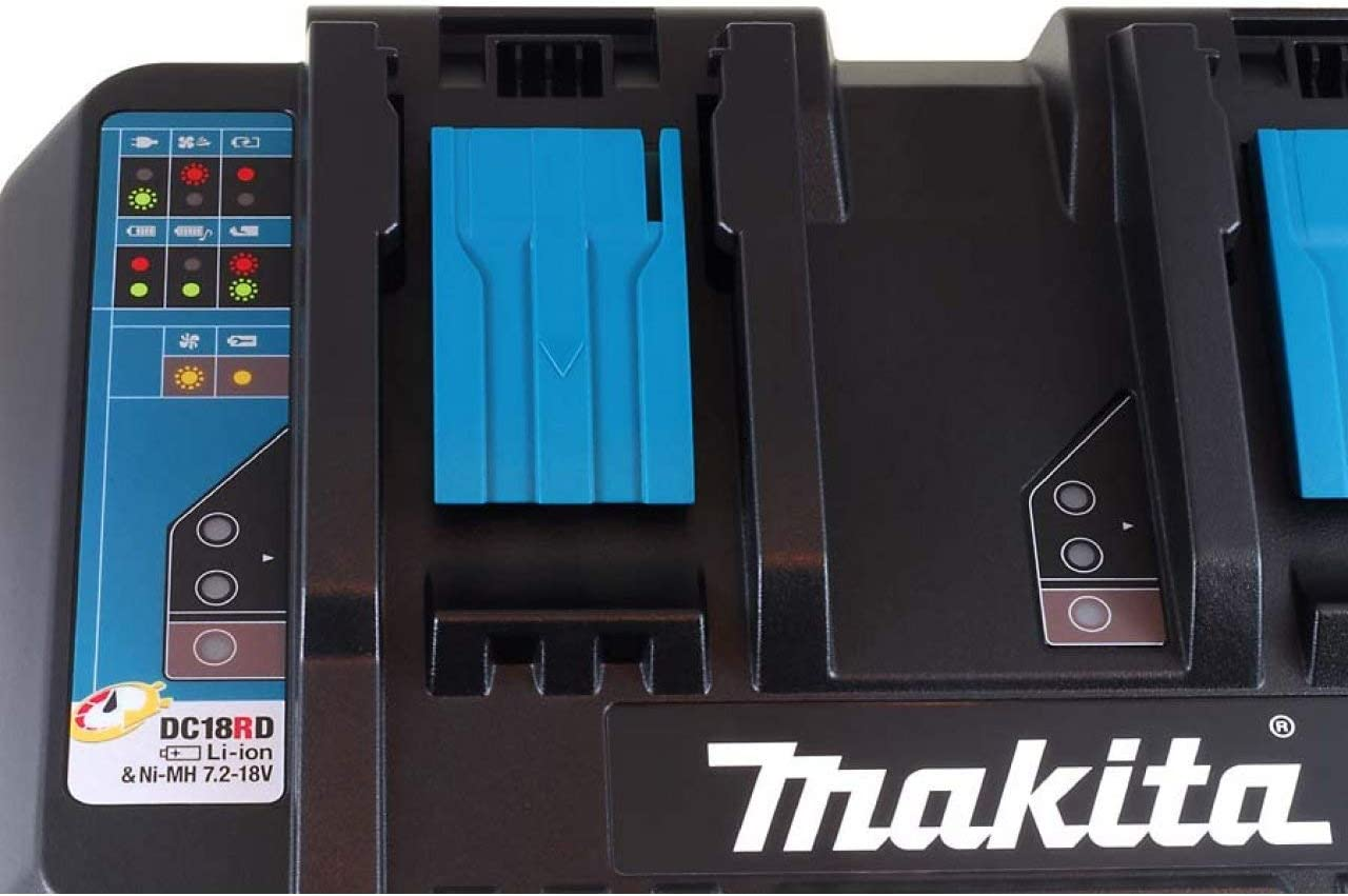Cargador Doble para Makita Modelo BL1850 Original