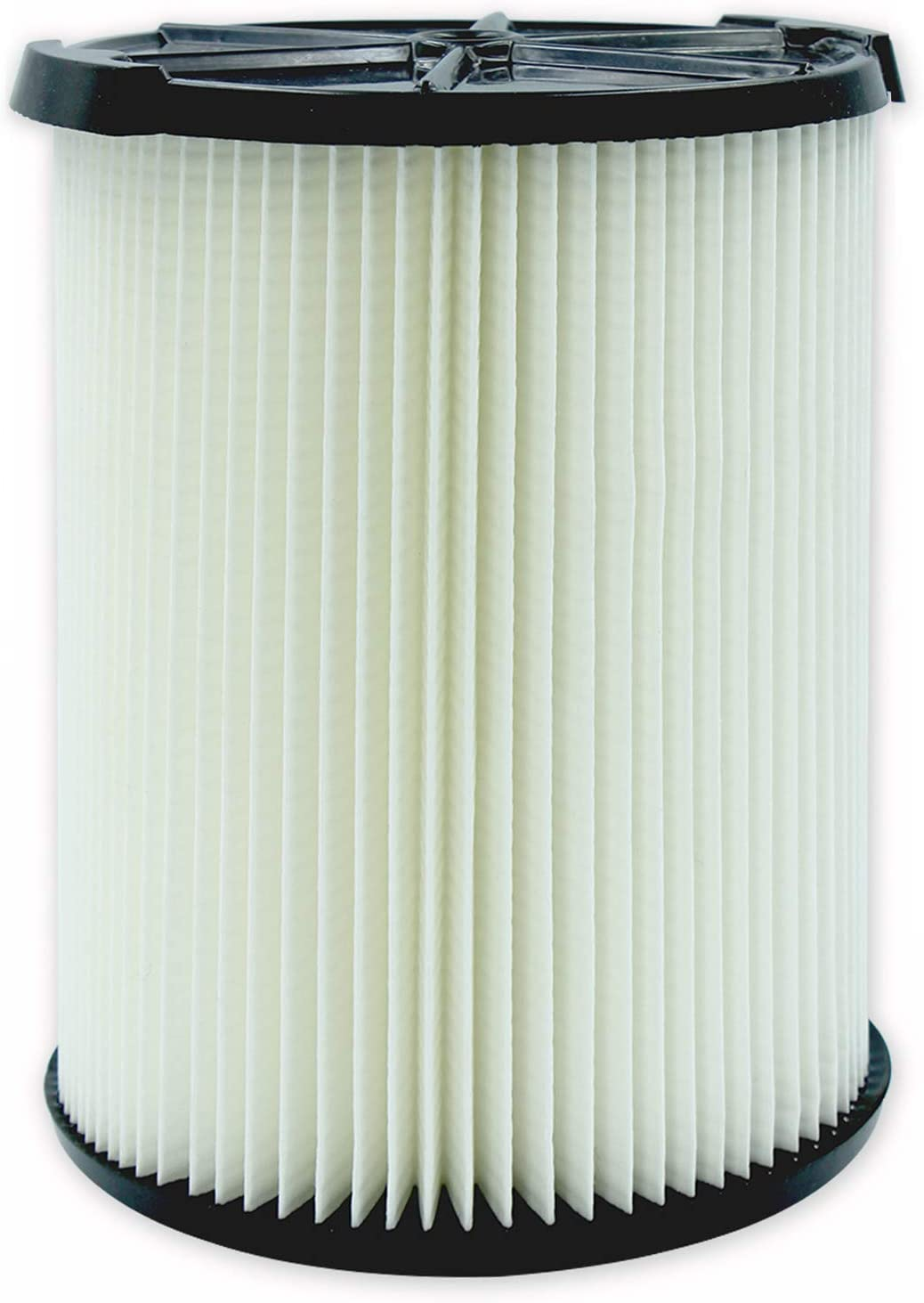 VF4000 General Standard Replacement Filter for Ridgid 72947 Wet Dry 5 to 20 Gal Vacuum, also fit Craftsman 17816 Shop Vac, 1 Pack