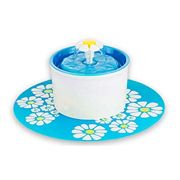 Tabanlly Dispensador de Agua, Fuente de Flor automática muda eléctrica Dispensador de Fuente de Agua - Suministros para Mascotas: Amazon.es: Productos para ...