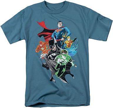 Trevco Mens JLA Justice League King of Atlantis Adult T-Shirt