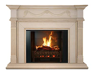 MagikFlame Electric Fireplace and Mantel