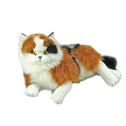 Amazon Com Bocchetta Plush Toys Calico Cat Kitten Stuffed Animal