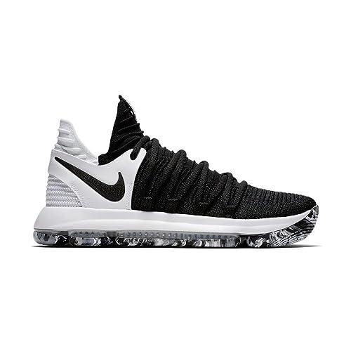 Nike Zoom Kd10 (GS), Zapatillas de Deporte para Niños, Negro Black-White 008, 37.5 EU: Amazon.es: Zapatos y complementos