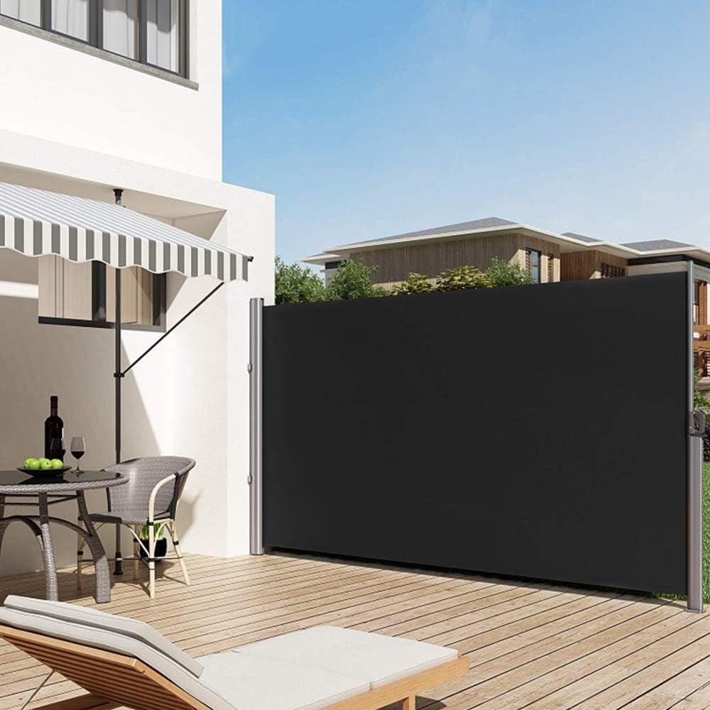 Amazon De Lars360 Ausziehbar Seitenmarkise Sonnenschutz