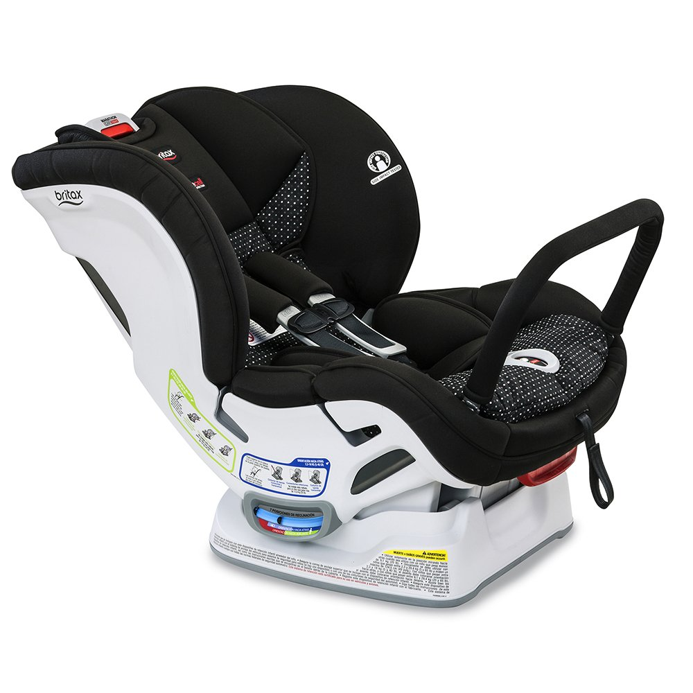 Britax Marathon ClickTight Anti-Rebound Bar Convertible Car Seat, Vue
