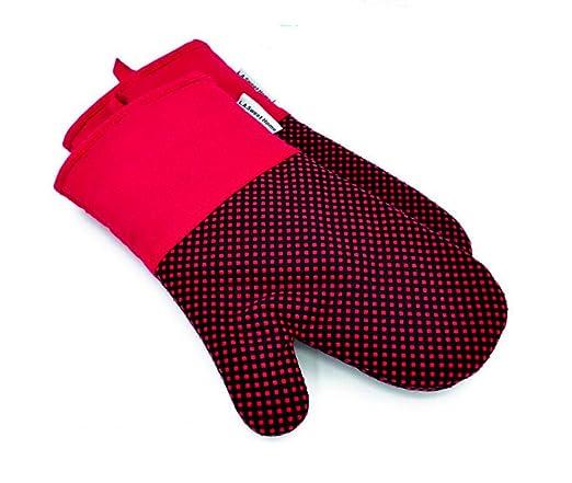 QXWL Guantes de silicona para horno, guantes de cocina a prueba de ...