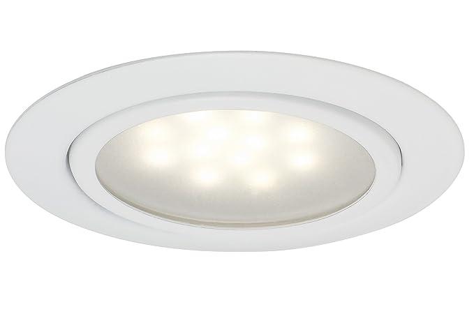Paulmann 998 15 recessed spotlights metal white