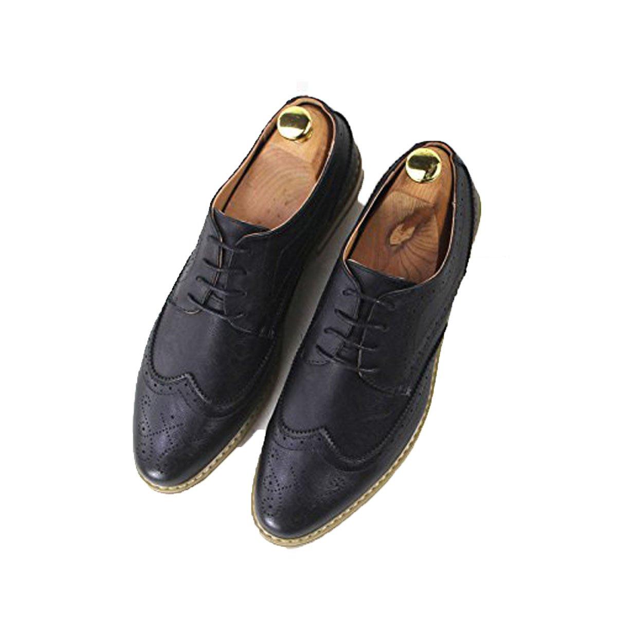 Koyi Los Zapatos De Brooke De Los Hombres del Verano Visten El Desgaste De Deslizamiento Cómodo Transpirable De La Moda De Los Jóvenes del Verano 42 EU|Black