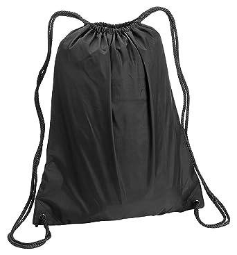 Amazon.com | Liberty Bags Large Nylon Drawstring Backpack ...