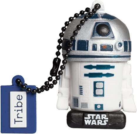 Llave USB 16 GB R2D2 TLJ - Memoria Flash Drive 2.0 Original Star ...