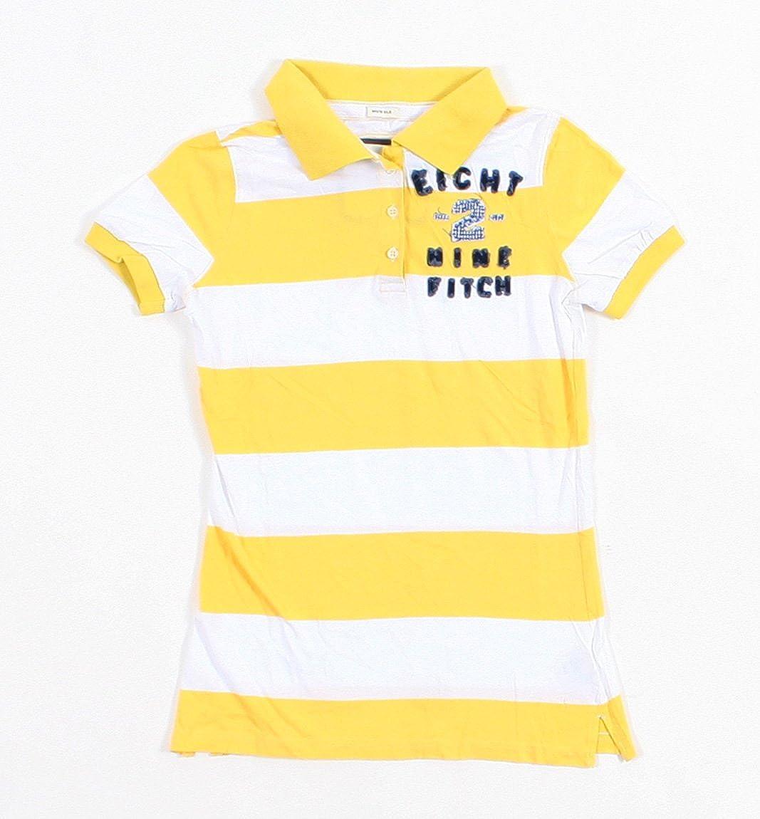 Abercrombie & Fitch - Camisa - Manga corta - para niño amarillo ...