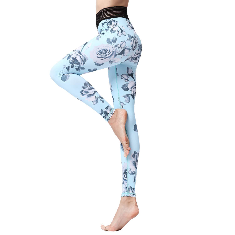 Amazon com: MTSCE Yoga Pants Womens Compression Fitness