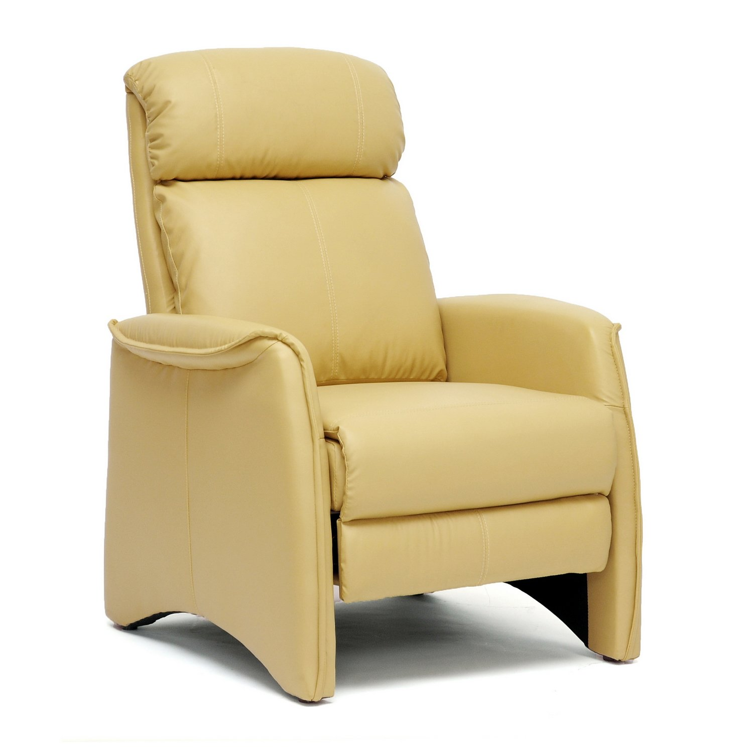 Amazon Baxton Studio Aberfeld Modern Recliner Club Chair Tan