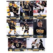 2013-14 Upper Deck NHL Hockey Boston Bruins Series 1 & 2 Veterans Team Set- 15 Cards Including: David Krejci Johnny Boychuk Torey Krug Milan Lucic Brad Marchand Dennis Seidenberg Patrice Bergeron Gregory Campbell