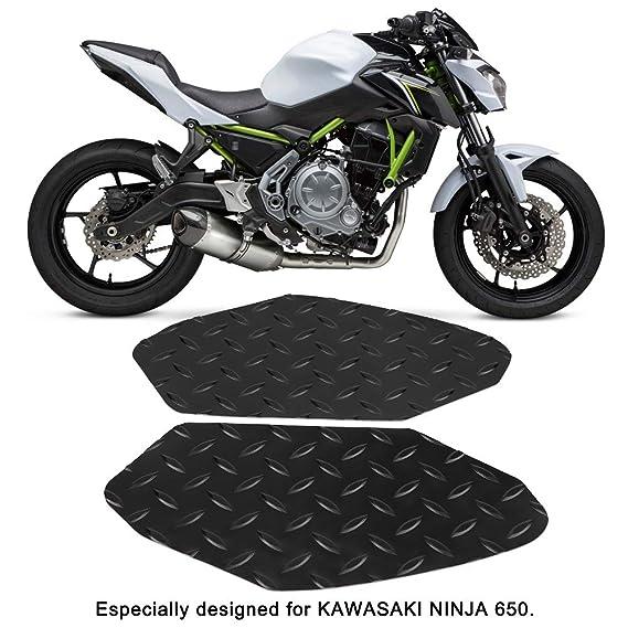 Amazon.com: Ejoyous 2pcs Motorcycle Tank Pad, Anti-Slip Gas ...