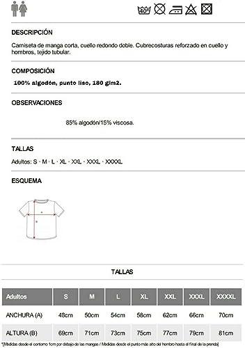 Camiseta Negra ST Pauli Hombre Talla S M L XL XXL 100/% ALGOD/ÓN Mangas Cortas