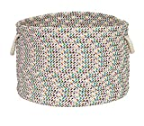 Colonial Mills Home Decorative Carnival Bright 14'''' x14 x 10 Round Basket, NEW