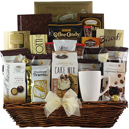 GreatArrivals Gift Baskets Coffee Lovers Dream: Gourmet Coffee Gift Basket by GreatArrivals Gift Baskets