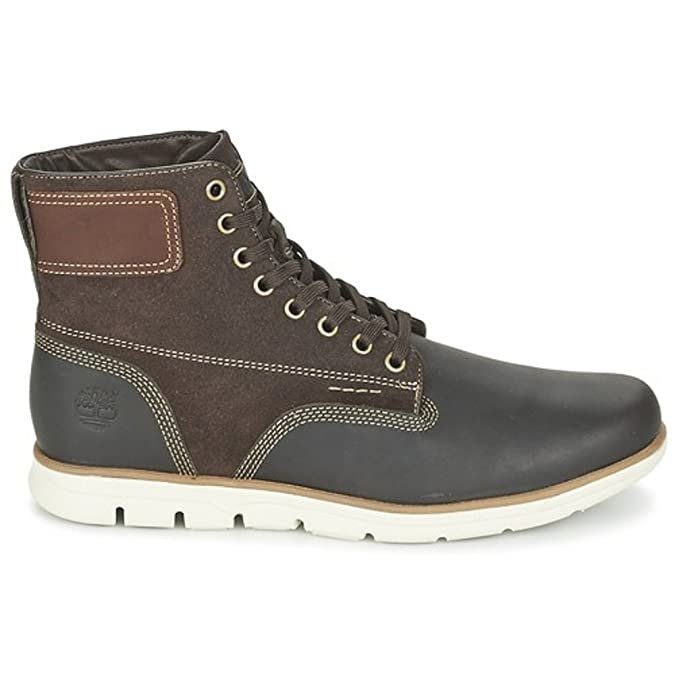3e7ae68c870 Timberland Bradstreet Bottine Homme Marron Taille 45  Amazon.fr  Chaussures  et Sacs