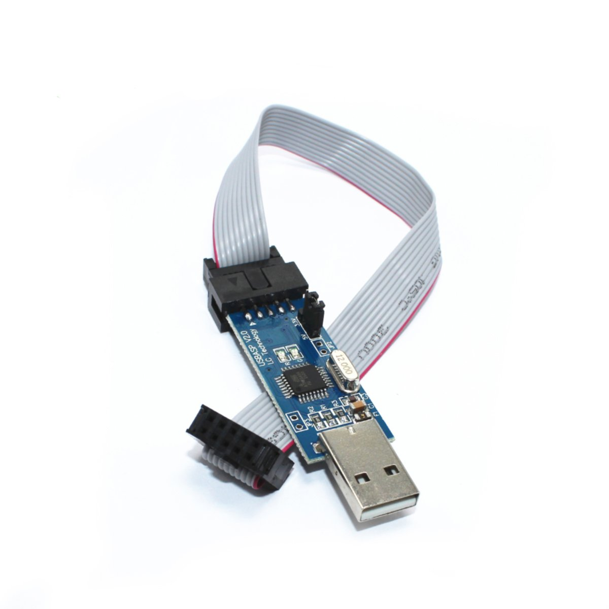 Hiletgo 51 Avr Atmega8 Programmer Usbasp Usb Isp 10 Pin Download Image Pc Android Iphone And Ipad 33v 5v