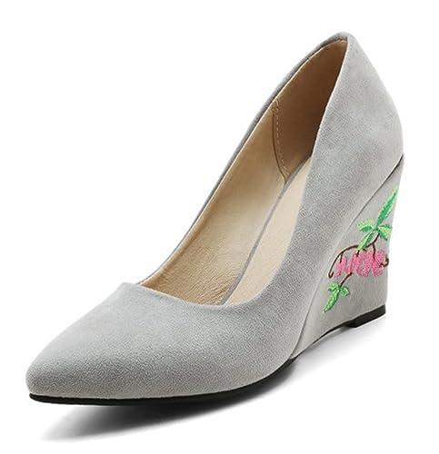 Chaussures à lacets Aisun noires Chic femme zQnRi