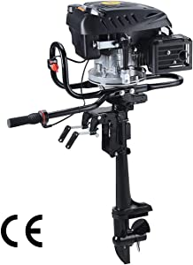 Superior Engine air-Cooled System Outboard Motor 4-strok Inflatable Fishing Boat
