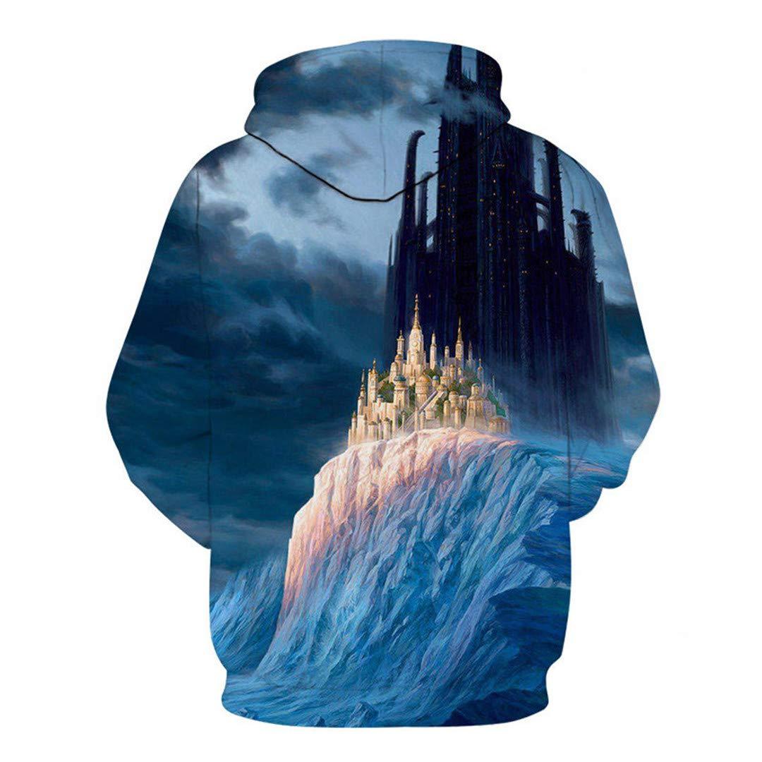 Men Hoodie Casual Movie Game Streetwears Long Sleeves 3D Print Mens Sweatshirts