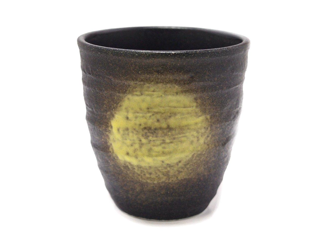 BLACK-IGA 8cm Tea Cup Jiki Japanese Original Porcelain watou.asia
