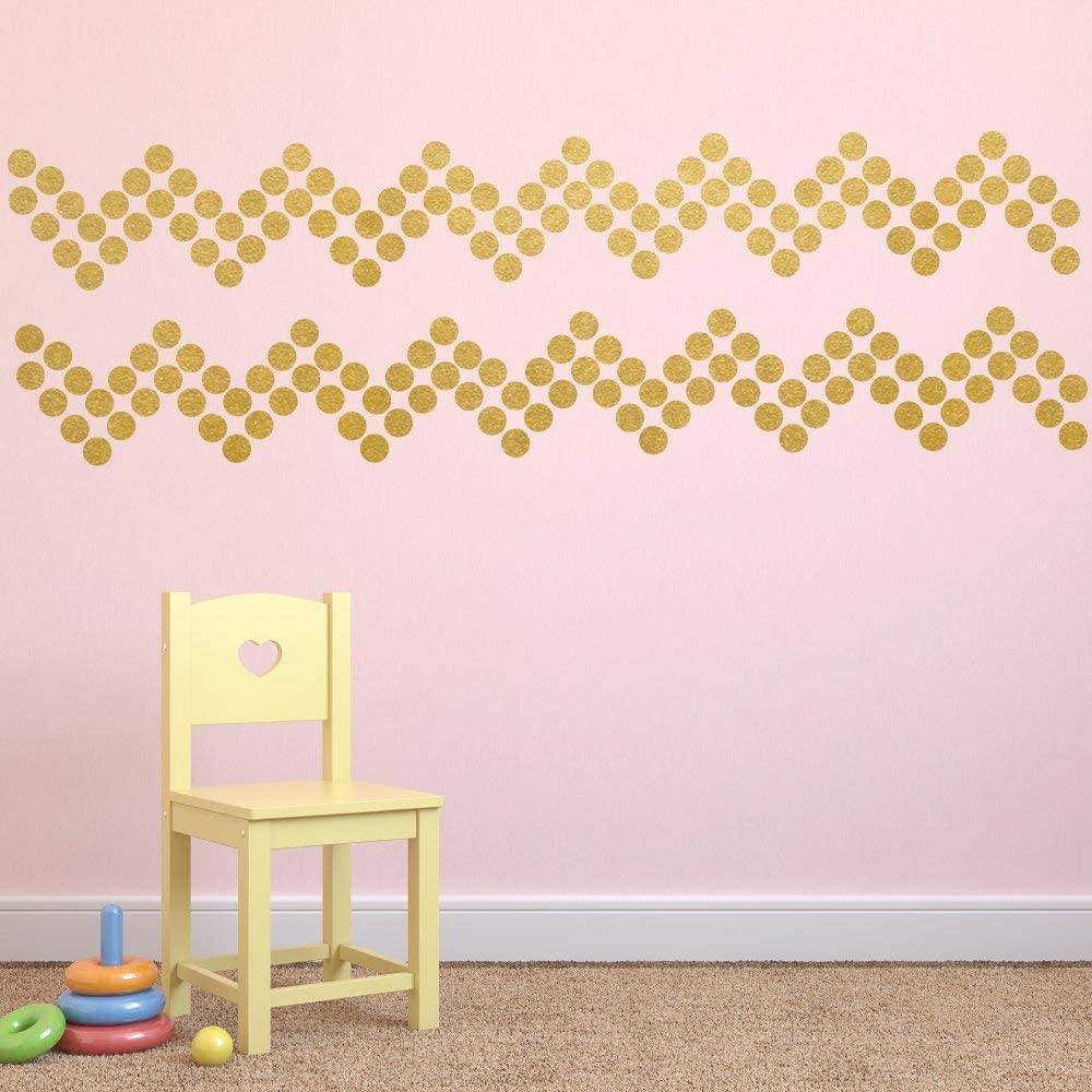 Removable Peel and Stick Circle Wall Decals for Nursery 1 Black Polka Dot Decals 260 Kids Room and Doors Mirrors