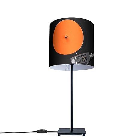 Original lámpara de mesa con diseño de diseño: Tocadiscos ...