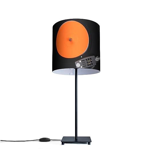 Original lámpara de mesa con diseño de diseño: Tocadiscos: Amazon ...