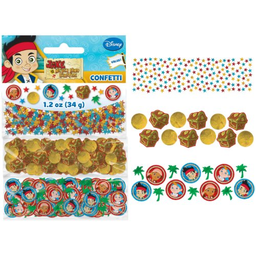 DesignWare Amscan AMI 361288 Jake and The Neverland Pirates Value Confetti Pack for -