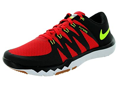 Nike Free Trainer 5.0 Mens Chaussures De Fond Rouge