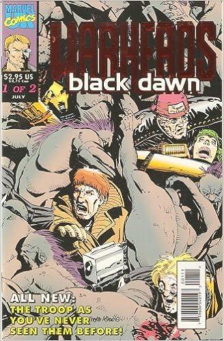 Warheads 1993 Charlie Adlard Black Dawn No.1-2