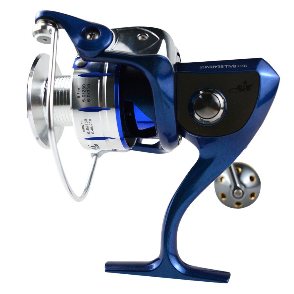 XY 淡水海水XY3000 4000 5000 6000シリーズについてはフルメタルシリーズスピニングリール (XY5000)   B01KUHT1DO