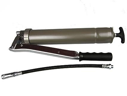 Engrasadora manual mano profesional 75/PK con manguera y sujeción embrague