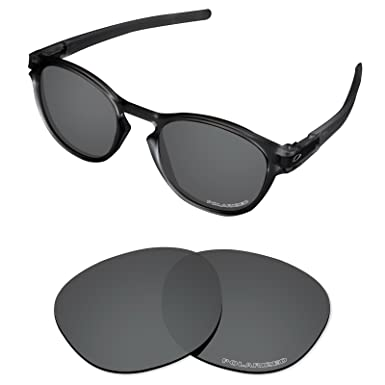 970eb985e1 Tintart Performance Lenses Compatible with Oakley Latch Polarized Etched-Carbon  Black