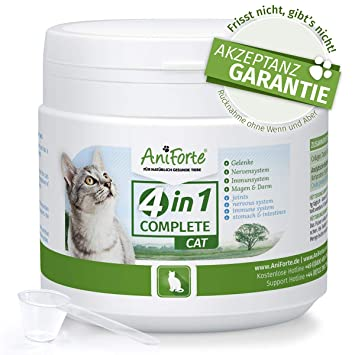 El Original de aniforte 4 in1 Complete 60 g, naturales Rundum versor Gung para gatos
