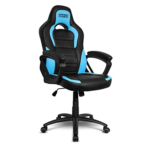 Empire Gaming - Sillón Gamer Racing 500 serie Azul - Reposabrazosultracómodos y mullidos