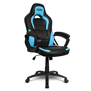 Empire Gaming - Sillón Gamer Racing 500 serie Azul - Reposabrazosultracómodos y mullidos: Amazon.es: Hogar