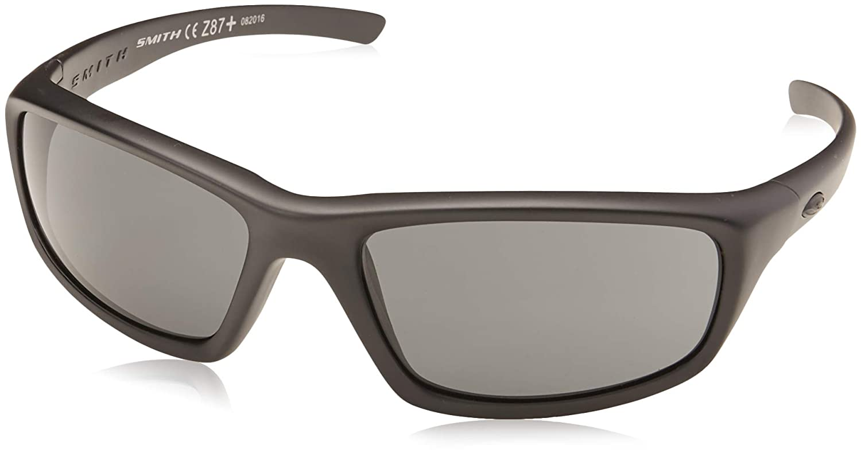063f715de2 Amazon.com  Smith Optics Director Tactical Sunglass with Black Frame (Clear  Lens)  Sports   Outdoors