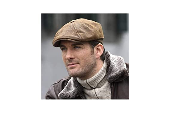 Hatteras Burney piel stetson Gorra marrón: Amazon.es: Ropa y ...
