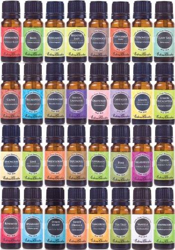Ultime aromathérapie 100% Pure Set thérapeutique année Huiles essentielles (Essential Pack Cadeau d'huile) - 32/10 ml