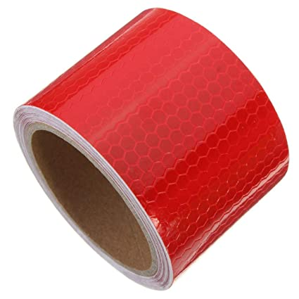 8m Car Truck Reflective Safety Warning Conspicuity Roll Tape Film Sticker Decal