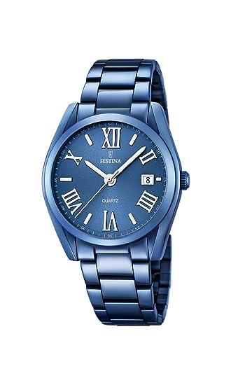 Festina F16864/3 - Reloj de Pulsera analógico para Hombre (Mecanismo de Cuarzo,