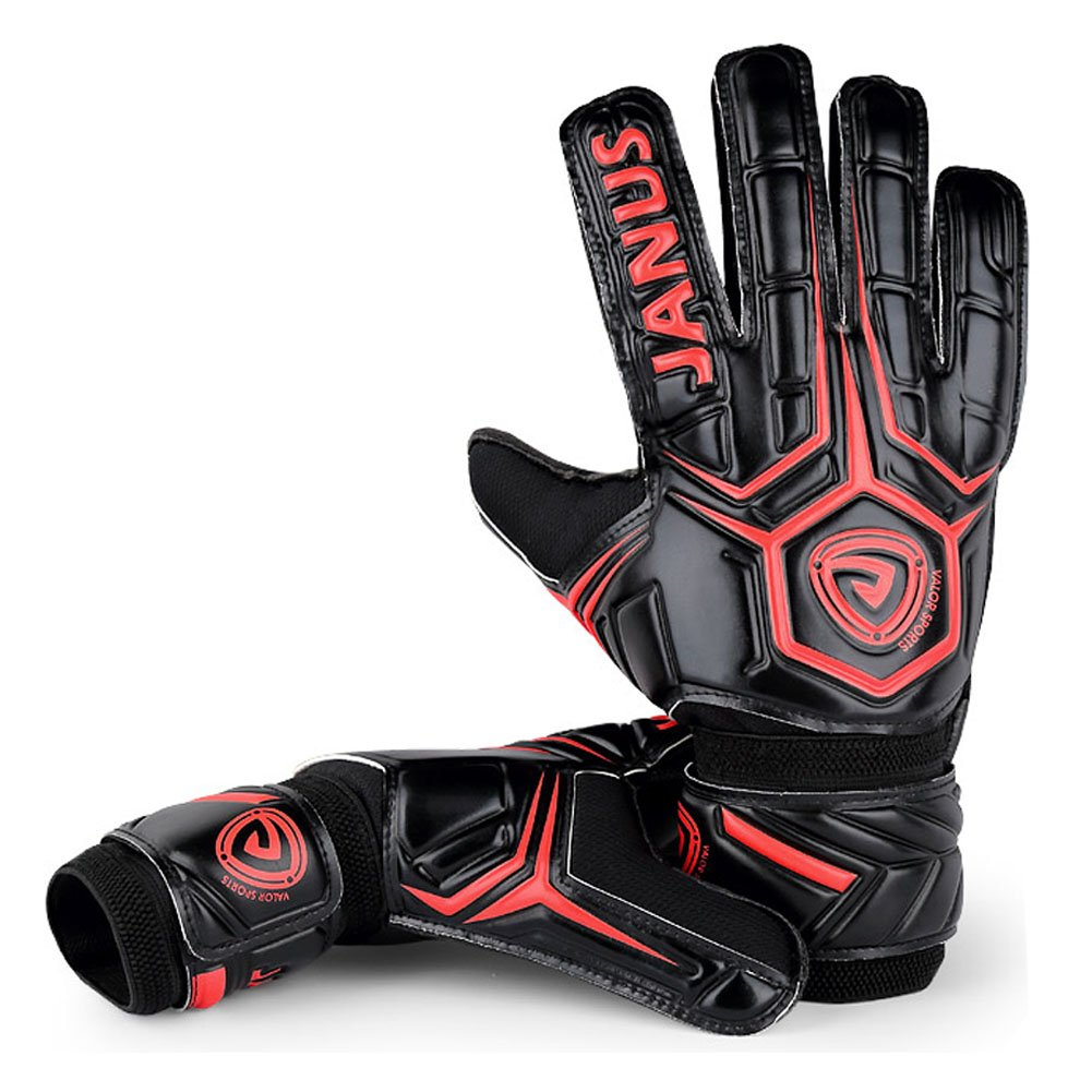 3c4f81108 JYH Professional Adult & Youth Latex Soccer Goalkeeper Gloves,Strong Grip  Finger Protection Football Goalie Goal ...