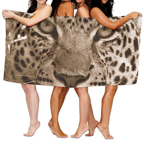 Leopard Backgrounds Wallpaper Patterned Travel Beach Towel by ULUZUS