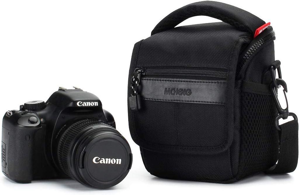 Ligero Cámara sin Espejos Hombro Bolsa para Canon EOS M50 M100 M5 M6
