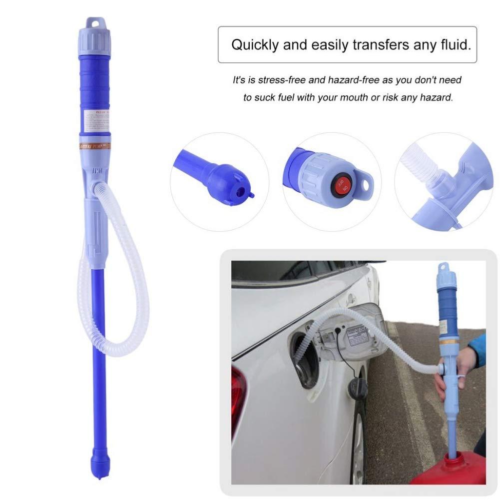 BOENZN Elektrische Benzinpumpe Kanisterpumpe Elektrisch Multi-Batteriepumpe /Ölpumpe Wasserpumpe Kanisterpumpe Benzinpumpe Elektrische Pumpe